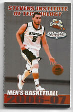 2006-07 Stevens Institute Of Technology College Basketball Volleyball Schedule !