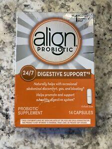 Align, Probiotic Supplement, Digestive Support, 14 Capsules Exp: 11/21 D5