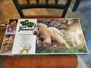 Scarce Yotta Know Mammals Family Learning Game Vintage Homeschool EXCELLENT!
