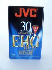 JVC Video Recorder EHG Hi-Fi Compact VHS Cassette Tape 90 Min TC 30