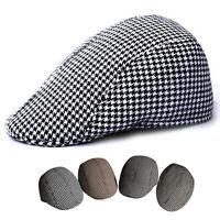 Newsboy Beret Cabbie Gatsby Peaked Baker Flat Hat Golf Driving Sun Cap CTY NEW