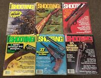 SHOOTING TIMES MAGAZINE Lot of 6, Vintage 1973 1974 1975 1977 Firearms Hunting