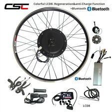 "48V 500W 1500W Conversion Kit Cycling Motor 27.5"" 28"" 29"" 700C E Bike Motor LCD8"