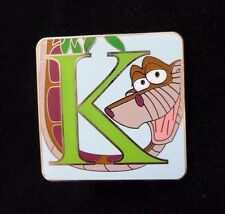 Disney Parks Alphabet Mystery Collection - K - Kaa Pin ONLY - NEW 2015