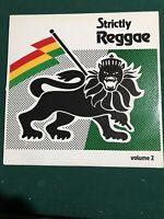 Strictly Reggae Volume Two Very Good Plus Vinyl Lp