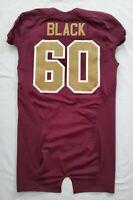 #60 Black of the Washington Redskins NFL Alternate Game Issued Jersey