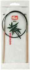 PRYM 60 CM x 4.5 mm piedini per maglieria circolare, bambù