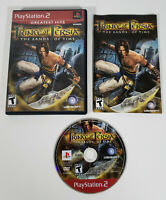 Prince of Persia: The Sands of Time (Sony PlayStation 2, PS2) - Complete, Tested