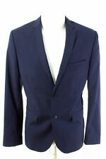 Fabric By Marzotto Sakko Gr. ca. 94 (S Schlank) Slim Fit Business Jacket