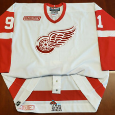 Sergei Fedorov Vintage Detroit Red Wings CCM Authentic Jersey 2000 Patch