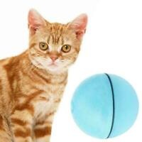LED Pet Motion Ball Toy Electric Activated Cat Playing Dog New Waterp G5Y1