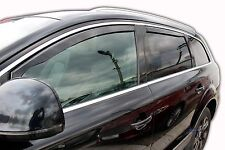 DAU10225  AUDI Q7 5 door 2006-2015 wind deflectors 4pc set TINTED HEKO