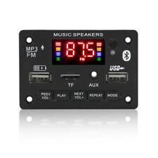 Car Fm Radio Module Bluetooth Speaker Mp3 Decoder Board Usb Tf Fm Music Player