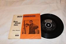 Roy Orbison Import 45 & Picture Sleeve-MEAN WOMAN BLUES/BLUE BAYOU