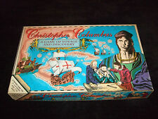 CHRISTOPHER COLUMBUS-A BOARD GAME OF VOYAGE AND DISCOVERY BY BMI TOYS AND GAMES