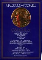 Caligula Japanese Chirashi Mini Ad-Flyer Poster 1979 A