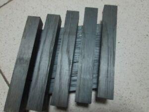 set of 5pcs Bog oak blanks for pen(150x20x20mm)(morta,wood) from 1000-6000year