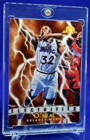 SHAQUILLE O'NEAL SKYBOX ELECTRIFIED LIGHTNING BOLTS RARE SP ORLANDO MAGIC