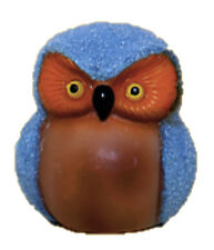 Traditional Portuguese Souvenir Owl Meteo Owl change color with weather - 2.76""