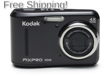 Kodak PIXPRO Friendly Zoom FZ43-BK 16MP Digital Camera with 4X Optical Zoom a...