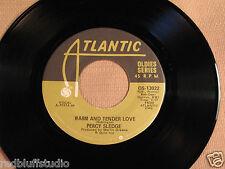 Percy Sledge Warm and Tender Love - Near Mint Atlantic  Records
