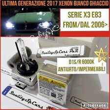 2 Lampadine XENON D1S BMW X3 E83 2.0 d m 2006> fari BIXENON Ricambio bulb 6000K