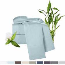 100% Bamboo 4 Piece Deep Pocket Bed Sheet Set