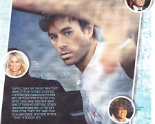 Enrique Iglesias - Israel Newspaper Hebrew 2015