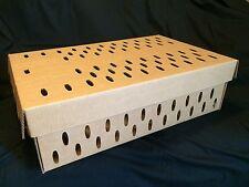 Live Bird Transport Box - Quail, Partridge, Pheasant, Bantam - 10 Boxes