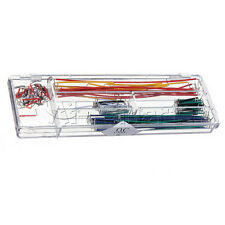 Hot 140pcs Solderless Breadboard Jumper Cable Wire Kit Box DIY For Arduino