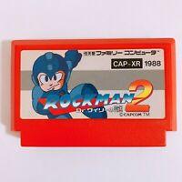 ROCKMAN MEGAMAN 2 Nintendo Famicom FC NES Japan game Tested Working