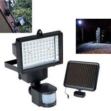LED Solar Powered LED Floodlight Motion Sensor Garden Outdoor Security Lights 60 LED 1 Light