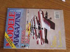 $$$ Revue Modele Magazine N°472 Plan encarte MinitricCerf-volantFutaba FC 28