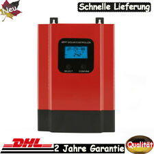 40A 60A 12//24//36//48V MPPT Solar Laderegler Solarregler De+LCD-Anzeige System DHL
