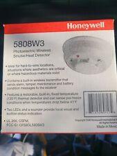 NEW IN BOX HONEYWELL 5808W3 WIRELESS SMOKE HEAT DETECTOR