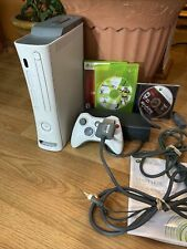 New listing Xbox 360 20 Gb Hdd Console Bundle with Games and Controller