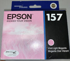 Expired Epson UltraChrome K3 T157620 Original Ink Cartridge Vivid Light Magenta