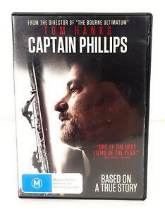 Captain Phillips (DVD, 2013) Tom Hanks Region 4 Free Postage