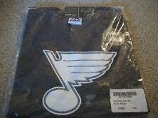 New W/TAGS Boys Majestic NHL St. Louis Blues Paddle Glow In The Dark Tee X-Large