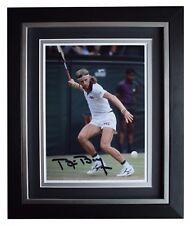 Bjorn Borg SIGNED 10x8 FRAMED Photo Autograph Display Tennis Sport AFTAL & COA