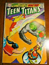 Teen Titans #6 Silver Age Key Vg Beast Boy Doom Patrol Robin Kid Flash 1st Pr Dc