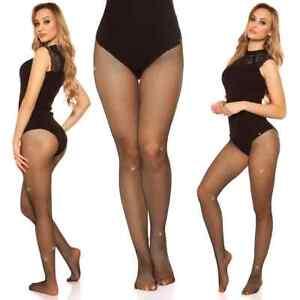 Koucla Tights Ladies Fishnet Tights Stockings With Rhinestones