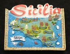 Magnet résine frigo Sicilia [M10]