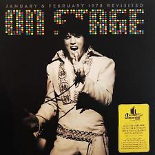 Elvis Presley: Elvis sur scène Revisited 4 LP SET très très limitée. obtenir le vôtre maintenant