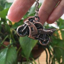 Fashion Metal 3D Motorcycle Keychain Car Key Chain Ring Holder Keyfob Great Gift