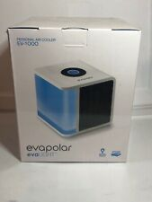 Evapolar Personal Evaporative Portable Air Conditioner and Humidifier, White