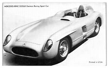 Mercedes-Benz 300SLR German Racing Sport Car Arcade Card *4Y