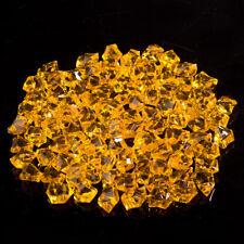 100x Acrylic Crystal Gem Stone Ice Rocks Aquarium Wedding Home Vase Decor Shiny