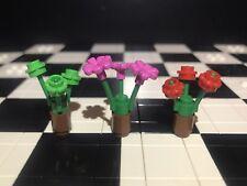 Lego Flowers X3 / Plants / Botanical / Landscape / Spare Parts