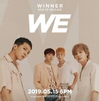 Winner: We* CD+Full Package+Poster+Gift  (YG) K-POP New Sealed
